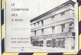 SAINT DENIS. - . LE COMPTOIR DES 4 RUES. 82 BIS, Rue Gabriel PERI - Saint Denis