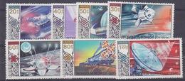 Mongolia 1985 Space 7v ** Mnh (34173) - Space