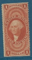 U.S. Revenue Scott R69b  (*)   $1 Inland Exchange  ( Très Rare En Neuf ) - Cw 10825 - Revenues