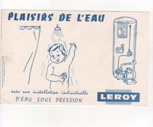 Buvard Leroy Chaudière - Electricité & Gaz