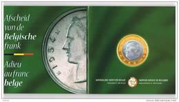 BELGIE  AFSCHEID VAN DE BELGISCHE FRANK   MUNTENSET  M/MS26   - 2001 - 1993-...: Albert II