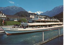 Thunersee Mit Motorschiff BLÜMLISALP