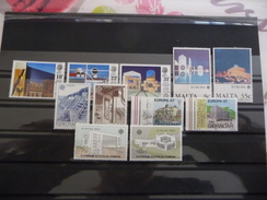 COLLECTION   LOT   TIMBRES   EUROPA   1987   NEUFS   LUXE** - Timbres