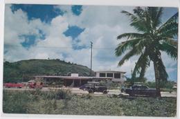 GUAM ISLAND - Police Building In Agana - Jeep Car - Guam