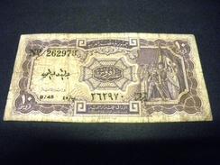 EGYPTE 10 Piastres 1971, L 1940,serie 45, Pick N° 183 H, EGYPT - Egypte