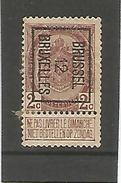 Preo / Voorafgestempelde Zegel N°25 Brussel 12 Bruxelles - Typo Precancels 1906-12 (Coat Of Arms)
