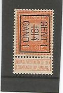 Preo / Voorafgestempelde Zegel N° 46 Gent 1914 Gand - Precancels