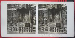 Stereofoto: Deutschland Bayern VG Breitbrunn Chiemsee (RO) - Schloss Herrenchiemsee: Prunksaal - Photos Stéréoscopiques