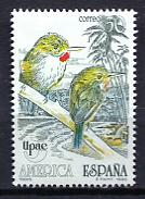 Spain 1990 España / Birds UPAEP MNH Aves Oiseaux  / Jn12  32 - Pájaros