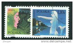 POLAND 1997 MICHEL No: 3647-3648 USED  /zx/ - 1944-.... Republic
