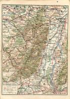 CARTE DU FRONT ORIENTAL   WW1   GUERRE 14 18 - Guerre 1914-18