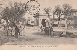 84 - AVIGNON - ALLEES DE L'OULLE - EXERCICES DES RECRUES - MILITARIA - Avignon