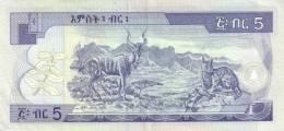 ETHIOPIA P. 47b 5 B 2000 UNC - Ethiopie