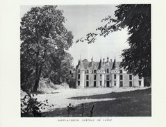 1948 - Héliogravure - Saint-Avertin (Indre-et-Loire) - Le Château De Cangé - FRANCO DE PORT - Vieux Papiers