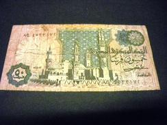 EGYPTE 50 Piastres 1981-1983, Pick N° 55, EGYPT - Egypte
