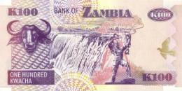 ZAMBIA P. 38a 100 Z 1992 UNC - Zambia
