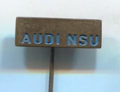 AUDI -  Car, Auto, Automotive, Vintage Pin, Badge, Abzeichen - Audi