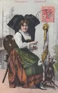 ALSACE - ALSACIENNE - 1909 - Costumi