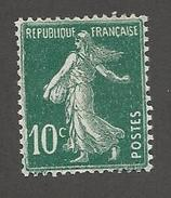 FRANCE - N°YT 159 NEUF** SANS CHARNIERE - COTE YT : 1.25€ - 1921/22 - 1906-38 Semeuse Camée