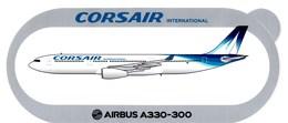Corsair  Airbus A330.300 - Aufkleber