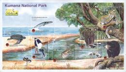 Sri Lanka 2-015 Kumana Natl Park MS Mint Elephant Bird Bear Leopard Etc MNH