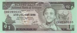 ETHIOPIA P. 30b 1 B 1976 UNC - Ethiopie