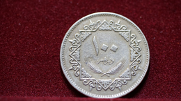 Libya 100 Dirhams 1975 Km#17. (inv839) - Libye