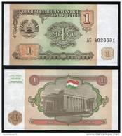 Tajikistan P 1 A - 1 Ruble 1994 - UNC - Tagikistan