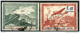France L.V.F (1941) N 2 + 3 ** (Luxe) - Guerres