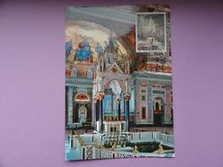 CARTE MAXIMUM CARD DAIS DE L'AUTEL PAPAL DE LA BASILIQUE ST PAUL DE ROME VATICAN - Chiese E Cattedrali
