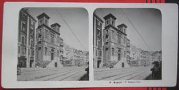 Stereofoto: Italien Napoli / Neapel (NA) - L'Immacolata - Stereo-Photographie