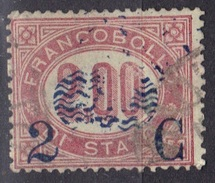 Italie N° 30 Impression Défectueuse De La Surcharge - 1861-78 Vittorio Emanuele II