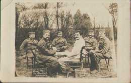 Betheniville, Soldaten-Portrait, Ostern 1915 In Frankreich, Feldpost, Marne, Foto-Postkarte, Militär, Erster Weltkrieg - Guerra 1914-18