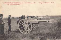 GRANDES MANCEUVRES 1909, Gel.1908 - Manöver