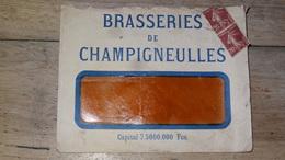 Enveloppe BRASSERIES DE CHAMPIGNEULLES .................. DIV-256 - 1906-38 Semeuse Con Cameo