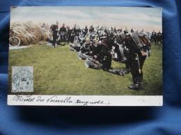 Manoeuvre D'Infanterie Allemande (casque à Pointes)- Colorisée - Série 3503 - Précurseur - Circulée 1905 - L288B - Manoeuvres