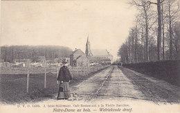 Welriekende Dreef - Notre-Dame Au Bois - Café-restaurant à La Vieille Barrière (animation, DVD 11603, 1906) - Overijse