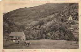 -ref-N938- Ariege - Le Port Pres Massat - Eglise - Carte Bon Etat - Edit. Labouche - N° 1712 - - France