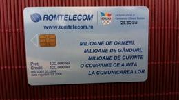 Romania Phonecard Olympic Games - Roumanie