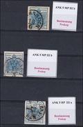 4076z1: Österreich 1. Ausgabe 1850, Ausgaben Lt. Steckkarte, Typbestimmung Prokop - 1850-1918 Empire