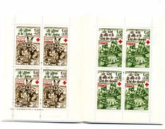 1978 CARNET DE 8 TIMBRES - Rotes Kreuz