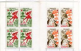 1975 CARNET DE 8 TIMBRES - Rotes Kreuz