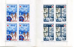 1974 CARNET DE 8 TIMBRES - Rotes Kreuz