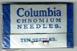 Columbia Chromium Needles. Sous Blister Jamais Ouvert. 10 Aiguilles Phonographe. - Accessoires, Pochettes & Cartons
