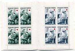 1966  CARNET DE 8 TIMBRES - Rotes Kreuz