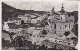 Karlsbad - Katholische Kirche (1049) * 7. IX. 1935 - República Checa