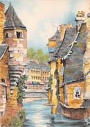 Illustrateur BARDAY - QUIMPER - Vieilles Maisons Sur Le Steir  - N° 2053 D  -  M. Barré & Dayez - Barday