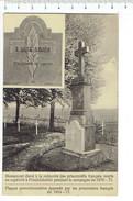 37846 ( 2 Scans ) Monument Eleve A La Memoire Des Prisonniers Francais Mort En Captivite A Friedrichseld Pandant La Camp - War Memorials