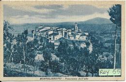 Lazio-roma Montelibretti Veduta Panorama Dall'alto Anni/30 - Italy