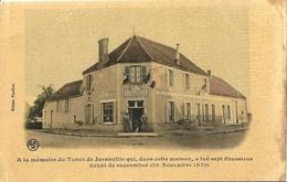 CPA A La Mémoire Du Turco De Juranville Qui...  Militaire 1870 - Autres Communes